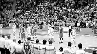 A minute of silence was held before all games at EuroBasket 2013 on 8th September as plazers paid their respect for those affected bzt he Uni Gyor tragedy on Sunday